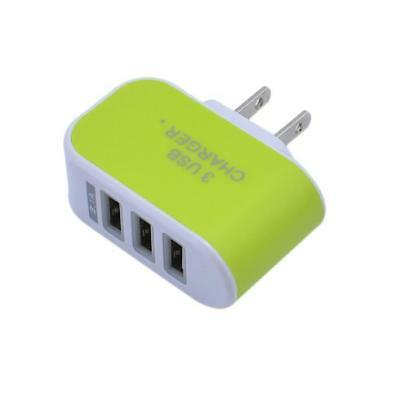 Universal USB 3 Port Wall Travel AC Power Charger Phone Adapter 5V3.1A