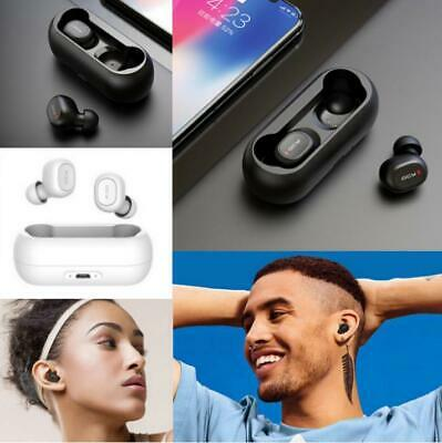 QCY T1C Wireless Bluetooth 5.0 TWS In-Ear Earphones Earbuds with Mic Charge Box