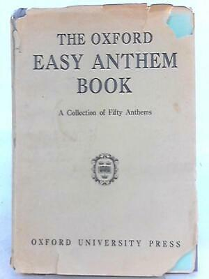 The Oxford Easy Anthem Book (1960) (ID:67604)