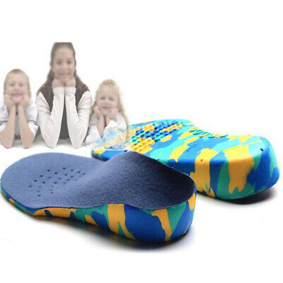 New Orthopedic Insoles EVA Flat Foot Arch Support Shoes Pad Relief Pain For Kids