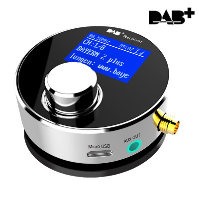 Dual-Use DAB/DAB+ Radio Receiver With Improved Full-Direction Indoor/Outdoor...