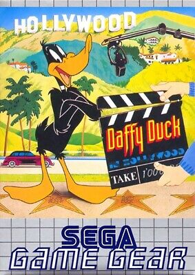 SEGA Game Gear game - Daffy Duck in Hollywood boxed  MINT CONDITION