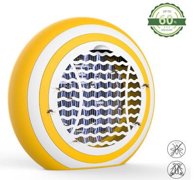 Electric UV Light Mosquito Killer Insect Grill Fly Bug Zapper Catcher Lamp k12
