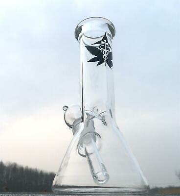 Small Clear Glass Bongs With downstem bowl Glass Water Pipes