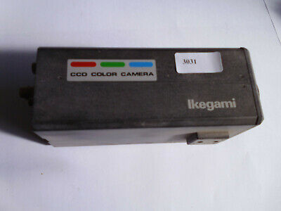 Ccd Color Camera Ikegma Icd-810P, Ser.no. 0155