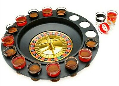 Vegas Style Roulette Shot Glass Drinking Game Great Poker Themed Party SPROULT