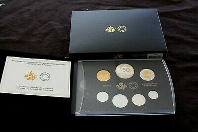 Canada Proof set 2017 150th Special Edition Our Home and Native Land