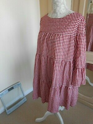 1ca57694cec ... Vichy Checked Playsuit Jumpsuit L BNWT 5644 326. £29.90 Buy It Now 29d  19h. See Details. ZARA red   white gingham 1960s style short dress size EUR  M UK ...