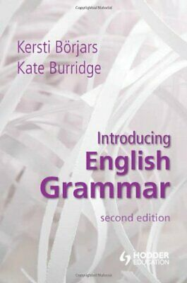 [PDF] Introducing English Grammar by Kersti Borjars - Email Delivery