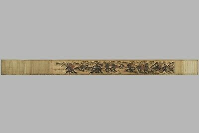 Fine Chinese Long Scroll Painting Signed Huang Gong Wang(1269-1354)