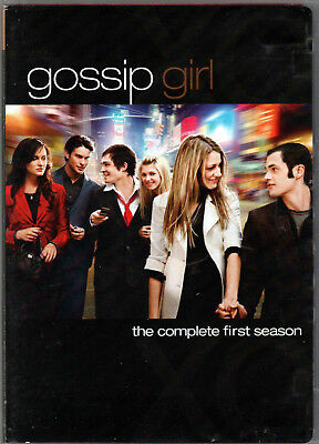 GOSSIP GIRL The COMPLETE FIRST SEASON 1 on a 5 DVD of HIGH SCHOOL Romance DRAMA!