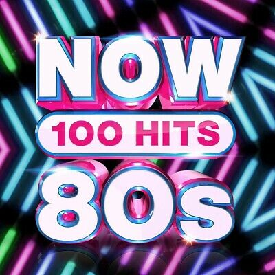 Now 100 Hits 80s CD Box Set New 2019