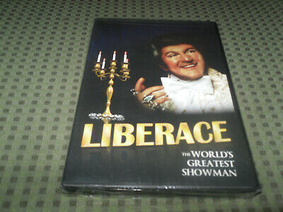 Liberace The World's Greatest Showman Dvd Brand New & Sealed