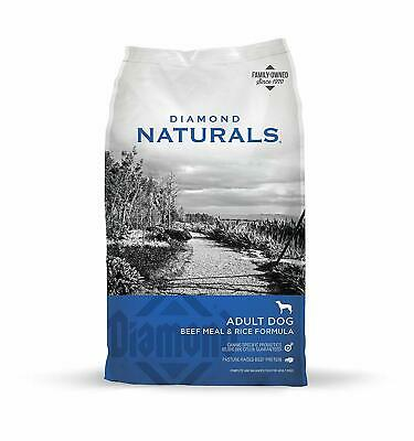 Diamond Naturals Dry Food for Adult Dog, Beef and Rice Formula, 40 Pound Bag