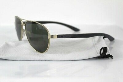 b25a3284f1 New Smith Salute Sunglasses Matte Gold Polarized Gray Green Lens