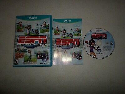ESPN Sports Connection  - COMPLETE - Nintendo Wii U - FAST SHIPPING!  228