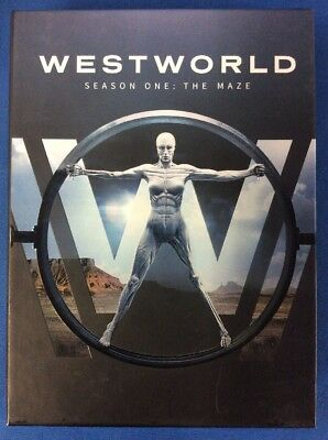 Westworld The Complete First Season (DVD,2017,3-Disc Set) G-1829-354-004,-016