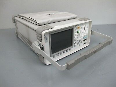 HP Agilent OmniBer 718 Communications Performance Analyzer 37718A w/Options