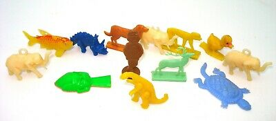 Cereal Toys - Vintage - Bag Of 13 Pieces - 1960'S