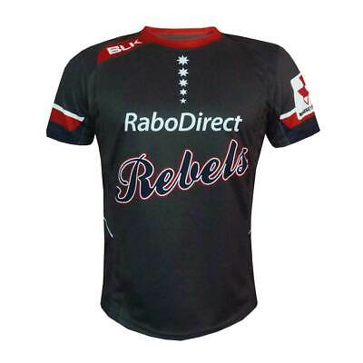 Melbourne Rebels 2015 Warm Up T-Shirt - Sizes S - 3XL  **SALE PRICE**