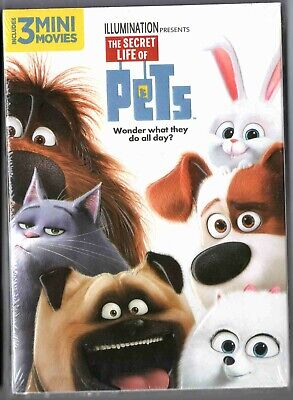 The Secret Life of Pets DVD NEW SEALED