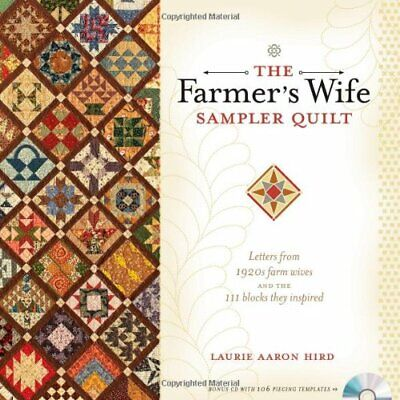 The Farmer's Wife Sampler Quilt, Hird, Aaron 9780896898288 Fast Free Shipping..