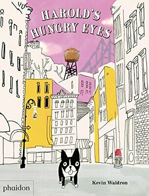 Harold's Hungry Eyes by Bennett  New 9780714871240 Fast Free Shipping..