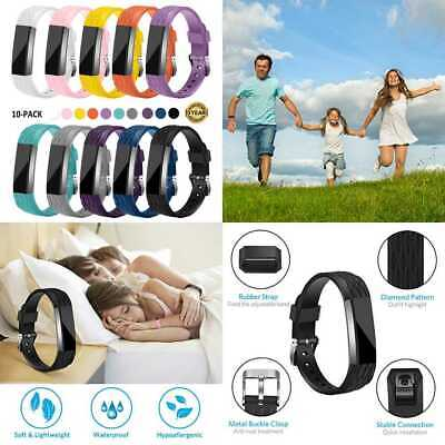 Gymu Fitbit Ace Bands For Kids Alta HR Diamond Replacement Wristbands W Secure M