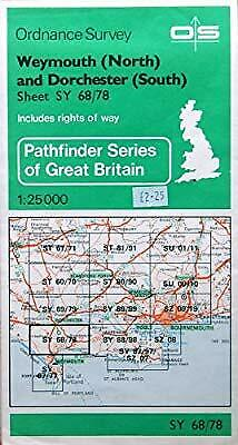 Pathfinder Maps: Weymouth (North) and Dorchester (South) Sheet 1332 (SY68/78), O