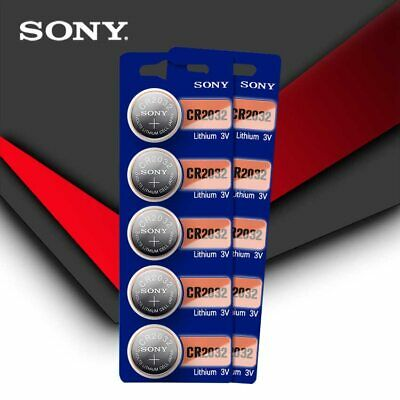 10pcs SONY Original cr2032 Button Cell Batteries 3V Coin Battery For Watch