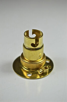 Brass Small Bayonet Batten Fitting Bulb Holder Lamp Holder Table Light Top L7