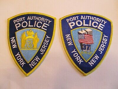 New York /& New Jersey Port Authority Police Emergency Service multicolor Patch