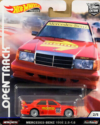 Mercedes-Benz 190E 2.5-1.6 Open Track Car Culture 1:64 Hot Wheels FYN61 FPY86