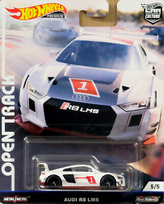Audi R8 LMS Open Track 5/5 Car Culture 1:64 Hot Wheels FYN64 FPY86