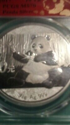 2017 10 Yuan People's Republic of China 30 gram.  First Strike.  PCGS MS70.