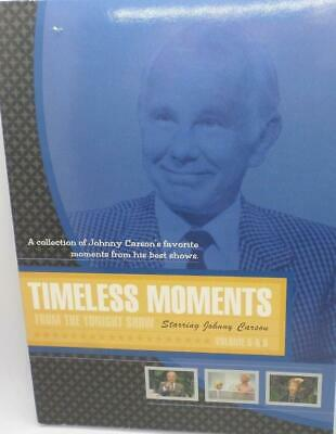 Timeless Moments: Tonight Show Starring Johnny Carson Vol. 5 & 6 DVD NEW