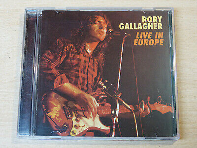 Rory Gallagher/Live In Europe/1999 CD Album