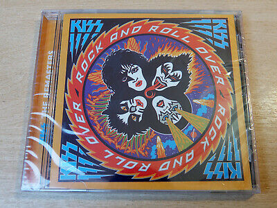 MINT & Sealed !! Kiss/Rock & Roll Over/1997 CD Album/Remaster