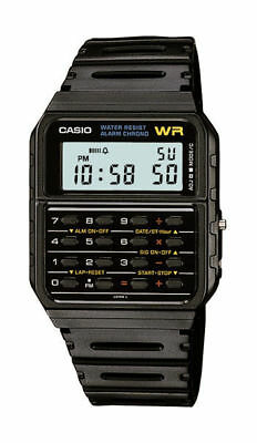 Casio Men's 8-Digit Calculator Resin Band 35mm Watch C5A3W-1 FOR MEN