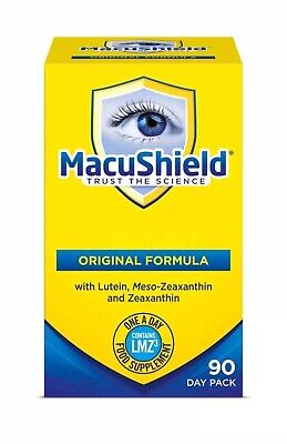 Macushield Eye Supplement 90 Capsules 3 Months Supply Long Expiry Date