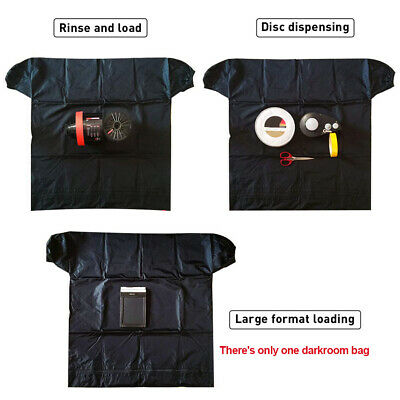 Dual Layer Darkroom Bag Load Photo Anti Static Anti Reflection Film Changing