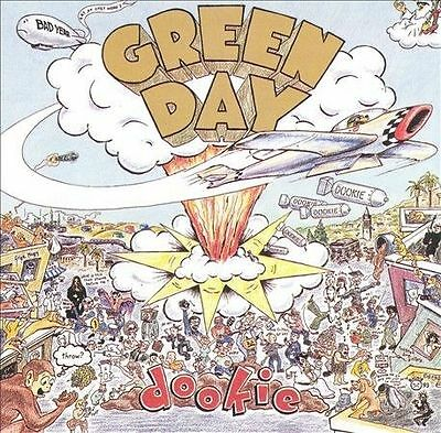 Green Day Dookie 1994 Reprise CD