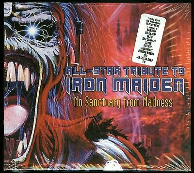 All-Star Tribute To Iron Maiden No Sanctuary From Madness CD new