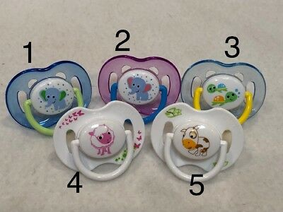Reborn Baby Doll ONE *1*AVENT Magnet Pacifier UR Choice of Color For Boy or Girl