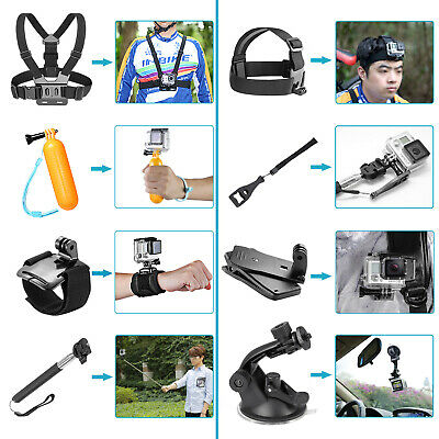 Neewer 14-en-1 Kit Accesorios Cámara Acción GoPro Hero5 Session Hero 1 2 3 3+
