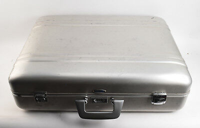Haliburton ZERO Aluminum Wardrobe Suitcase Travel Equipment Case 21x17x8 V22