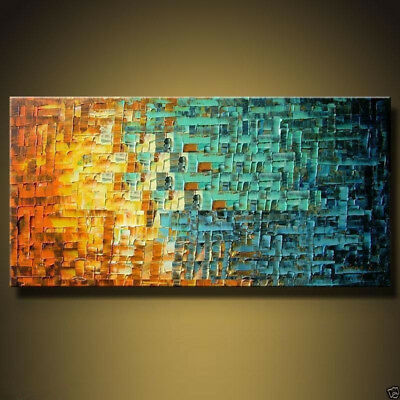 large modern abstract 100% hand-painted oil painting art on canvas
