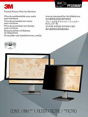 "3M Framed Privacy Filter for 22"" Widescreen Monitor"