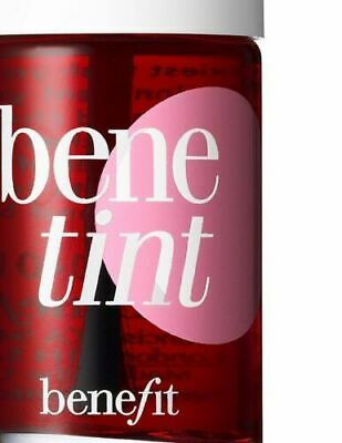 5X Benetint by Benefit rose-tinted lip & Cheek Stain 0.42 oz/12.5 ml Full Size