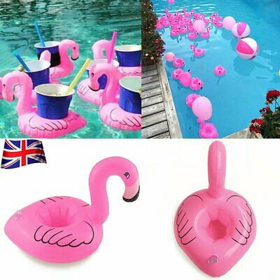 1-6Pc Inflatable Floating Drink Can Cup Holder Hot Tub Swimming Pool Beach Party